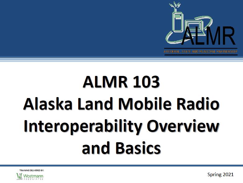 ALMR 103 cover slide